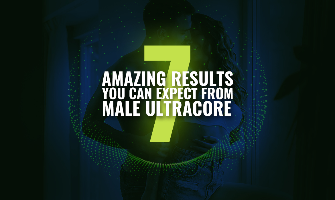 Man and Woman After Male UltraCore Results