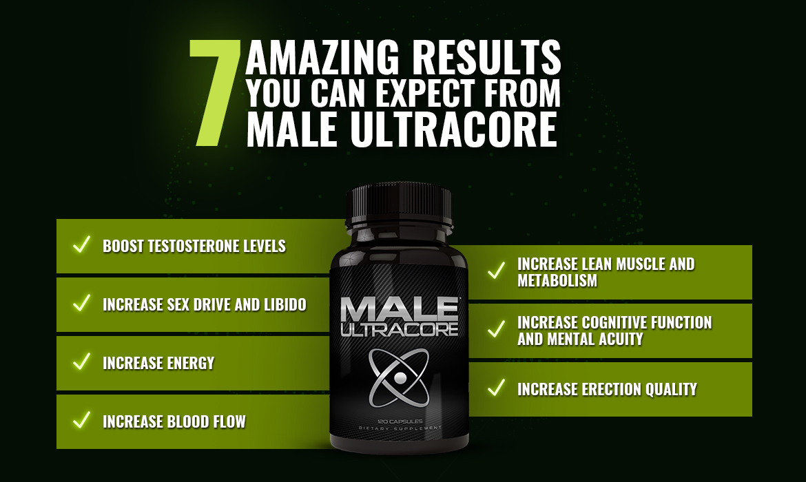 7 Amazing Results You Can Expect from Male UltraCore?
